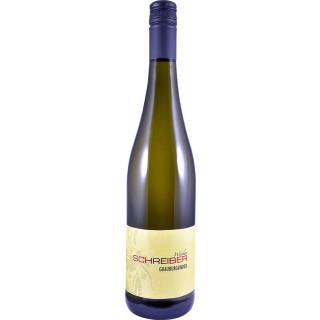 2018 Grauburgunder Spätlese halbtrocken - Weinbau Schreiber