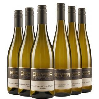 Genießerpaket Chardonnay&Riesling trocken - Weingut Johann P. Beyer