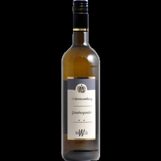 2019 Beilsteiner Wartberg Grauburgunder trocken - Weinkellerei Wangler