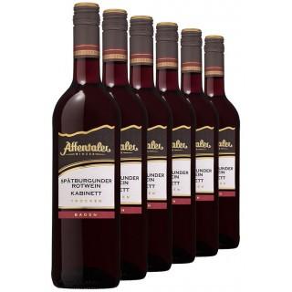 """2018 """"Winzer-Edition"""" Spätburgunder Kabinett trocken (6 Flaschen) - Affentaler Winzer"""