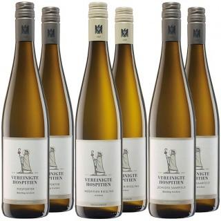 """""""Trockener Mönch"""" Probierpaket - Weingut Vereinigte Hospitien"""