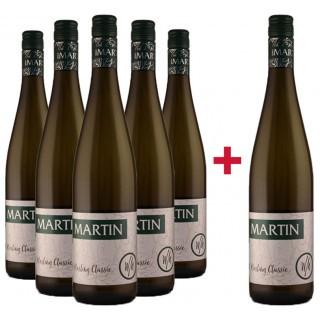 5+1 Rheingau Riesling Classic Paket - Weinhof Martin