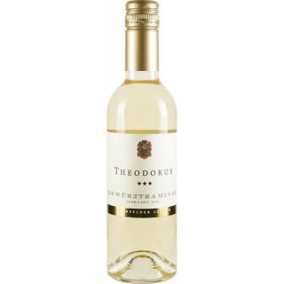 2016 Gewürztraminer *** Hainfelder Letten süß Bio 0,375L - Theodorus Wein- und Sektgut