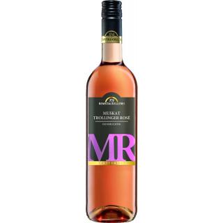 2020 Muskattrollinger Rosé feinfruchtig halbtrocken - Remstalkellerei