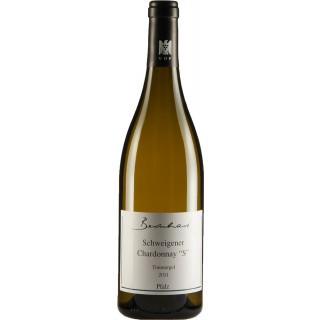 """2016 Schweigener Chardonnay Tonmergel """"S"""" VDP.Ortswein Trocken - Weingut Bernhart"""