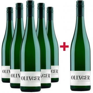 5+1 Weißburgunder-Paket - Gebrüder Müller-Familie Olinger