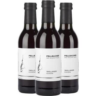 3x 2018 Trollinger feinherb 0,25L - Fellbacher Weingärtner eG