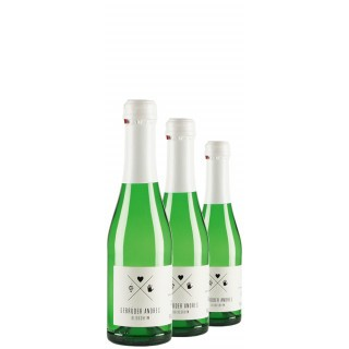 3x Riesling Sekt trocken Piccolo - Weingut Gebrüder Andres