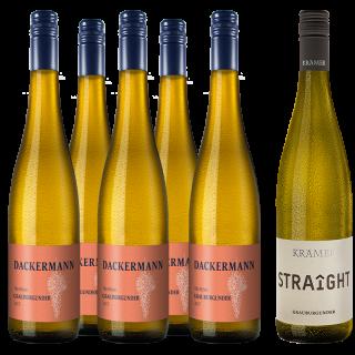 Jungwinzer Grauburgunder Paket  - Weingut Dackermann / Gut Krämer