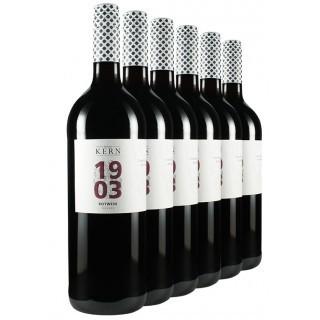 """5+1 Aktion """"Rotwein-Cuvée trocken Literwein-Paket"""" - Wilhelm Kern"""