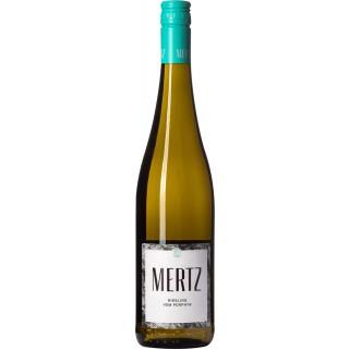 2017 Ortswein vom Porphyr Riesling trocken - Weingut Mertz