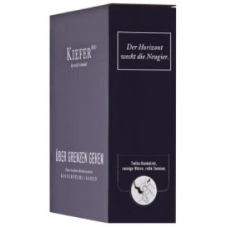 2017 Bag in Box Über Grenzen gehen 3,0 L Weinschlauch - Weingut Friedrich Kiefer