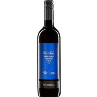 2015 NIT'ANA Cuveé Rot trocken - Weingut Hans und Christine Nittnaus