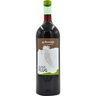 2019 Rundflug Cuvée Rot trocken 1,0 L - Weingut Schmitt Bergtheim