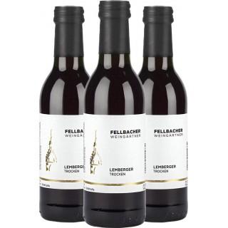 3x 2018 Lemberger trocken 0,25 L - Fellbacher Weingärtner eG
