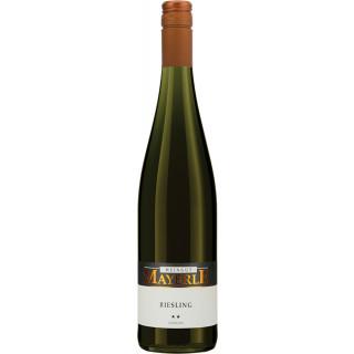 2019 Riesling 0,75L ** feinherb - Weingut Mayerle