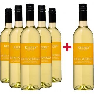 """5+1 """"Den Tag versüßen"""" Weißweincuvée Paket - Weingut Friedrich Kiefer"""