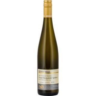 2016 Kreuznacher Rosenberg Grauer Burgunder Spätlese trocken - Weingut Mees