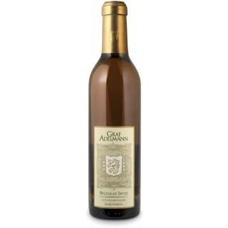 "2009 ""Brüssele´r Spitze"" Muskattrollinger Rosé Eiswein edelsüß (375ML) - Weingut Graf Adelmann"
