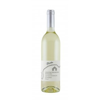 2016 Cuvée (Weiß) Gewürztraminer Riesling QbA Halbtrocken - Weingut Heiden