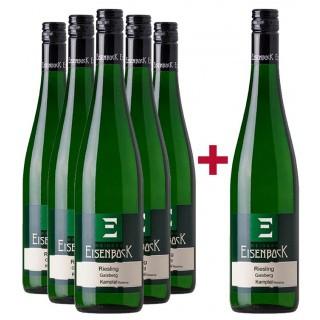 5+1 Paket Riesling Gaisberg Kamptal - Weinbau Eisenbock