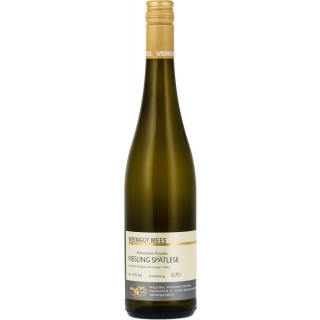 2017 Riesling Spätlese Weißwein trocken Nahe Kreuznacher Paradies - Weingut Mees