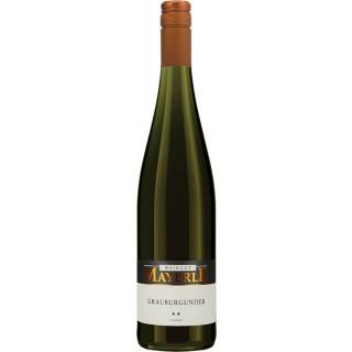 2019 Grauburgunder trocken - Weingut Mayerle
