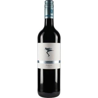 2014 Merlot VDP.Ortswein trocken Limitierte Slevogt-Sondereditionmit einer Zeichnung des Künstlers etikettiert - Weingut Siegrist