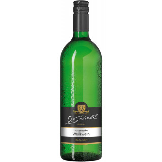 Weißwein Hausmarke trocken 1,0 L - Weingut O.Schell