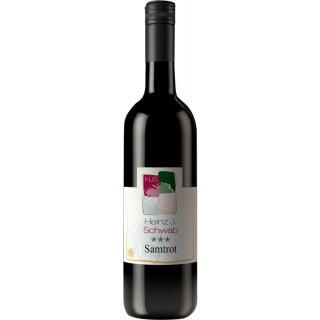2018 Samtrot*** halbtrocken - Weingut Heinz J. Schwab