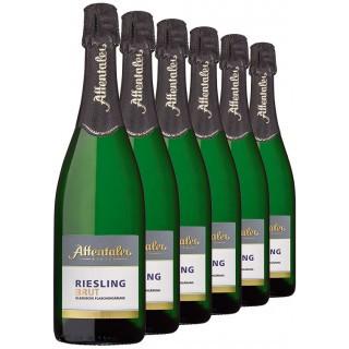 2016 Riesling Sekt b.A. brut (6 Flaschen) - Affentaler Winzer
