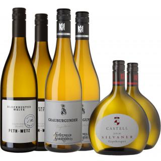 Weißwein Selektion Paket