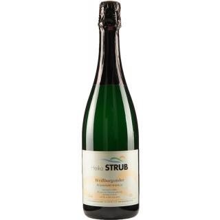 Weißer Burgunder Sekt Sekt b.A. trocken - Weingut Heiko Strub