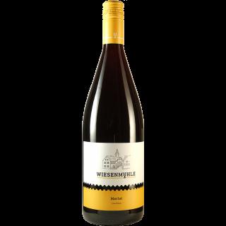 2017 Merlot QbA trocken 1L - Wein & Sekt Wiesenmühle