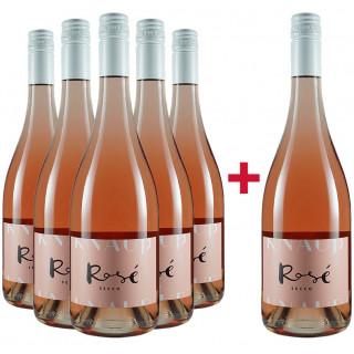 5+1 Paket Secco Rosé BIO - Weingut Knauß