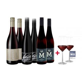 Jungwinzer Rotwein Paket
