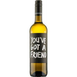 2018 You´ve got a friend Weisswein trocken BIO - Weingut Zähringer