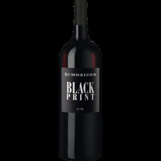 2018 Black Print Cuvée Rot trocken - Weingut Markus Schneider