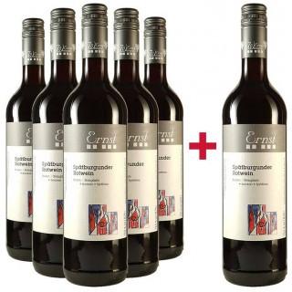 5+1 Paket Spätburgunder Spätlese trocken - Weingut Ernst