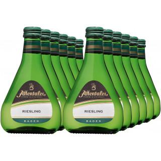 """2018 """"Traditionslinie"""" Riesling QbA 0,25L (12 Flaschen) - Affentaler Winzer"""