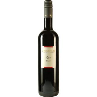 2017 Regent Superior Rotwein Spätlese rosinenreife BIO - Weingut im Zwölberich