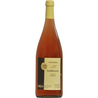 2018 Württemberger Schillerwein halbtrocken 1L - Weinkellerei Wangler