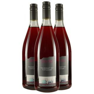 Traubensaft rot VOM PORTUGIESER 1,0 L - Weingut Tom & Bernd Dietz