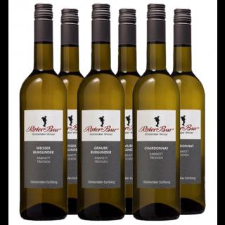 Weiß und trocken - Ohne Wein kein Mahl - Roter Bur Glottertäler Winzer