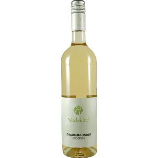 2017 Niersteiner Grauburgunder trocken Wein aus Umstellung auf den ökologischen Weinbau - Weingut Wedekind