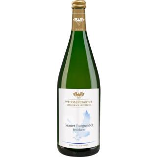 2019 Grauer Burgunder trocken 1,0 L - Weinmanufaktur Gengenbach