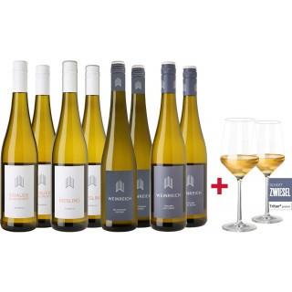 Großes Weinreich Kennenlern-Paket inkl. Gläser