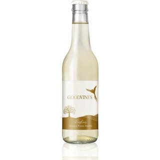 2018 Riesling - prickelnde Premium-Erfrischung | alkoholfrei feinherb 0,33 L - Goodvine's