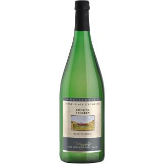 2018 Riesling trocken 1,0 L - Horrheim-Gündelbach