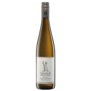 """2017 Serriger """"Schloss Saarfels"""" Riesling Qualitätswein halbtrocken - Weingut Vereinigte Hospitien"""